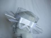 artisanat dart chapeau mariage blanc plexiglas : Etoile