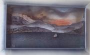 tableau marine marine annecy plexiglas : Coup de vent sur le lac :   VENDU