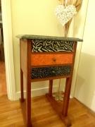 deco design autres afrique art deco design : Petit meuble 3 tiroirs