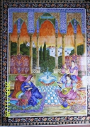 ceramique verre personnages ceramique mural artistique : Femme de sude