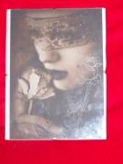 ceramique verre fleurs rose gravure verre femme : gravure sur verre