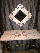 artisanat dart autres mobilier console mosaique pastel : Coiffeuse