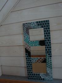 Miroir Turquoise (VENDU)