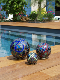 Trio de boules noires (VENDU)