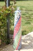 artisanat dart : Lampe à huile multicolore (VENDU)