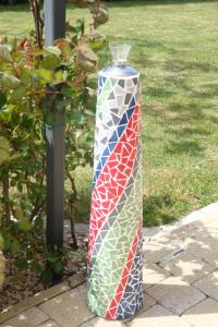 Lampe à huile multicolore (VENDU)