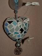 artisanat dart : Coeur d'Hiver (VENDU)