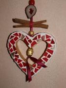 artisanat dart : Coeur Cannelle (VENDU)
