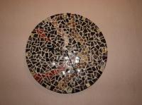 Horloge camaïeu marron (VENDU)