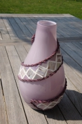 artisanat dart : Vase violet (VENDU)