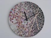 artisanat dart : Horloge (VENDU)