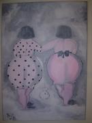 tableau personnages personnages obese : élégante obése