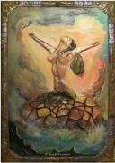 mixte autres peinture sculpture : Déesse de l amour