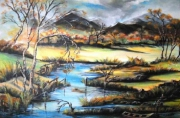 tableau paysages cours d eau eau : Cours d eau