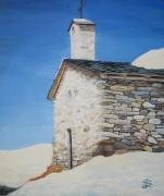 tableau menuire chapelle sandrine laurent anzart : La chapelle de savoie