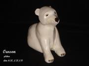 sculpture animaux original unique animal sculpture : ourson