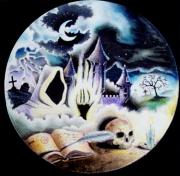 tableau scene de genre lune fantaisie magie : Lord of Darkness