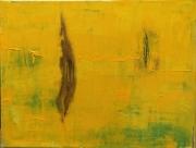 tableau paysages cypres nature jaune paysage : Laizyf