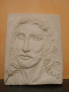 sculpture personnages bas relief argile bas relief sculpture christique art deco : sculpture bas relief en argile christ