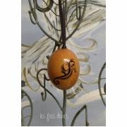 autres animaux oeuf de poule peint hippocampe peint deco noel deco mers : oeuf de poule peint à la main