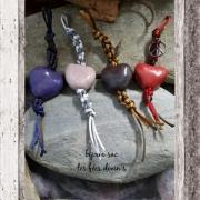 bijoux abstrait bijoux sac ,a main deco automobile ijoux en argile cadeau fete des mere : bijoux en argile