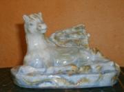 sculpture animaux oeuvre d art pe sculpture en argile cadeau anniversaire sculpture mythique : sculpture argile pegase