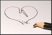 photo nature morte amour coeur chagrin peine : Tout casse. Tout.