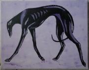 tableau animaux galgo chien refuge grace : Agathe