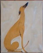 tableau animaux galgo levrier espagnol sauvetage chien : Danone