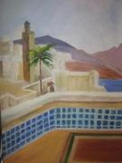 "tableau maroc soleil mer : ""Maroc"""