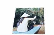 art textile mode paysages mekong : Carré Soft