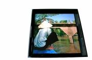 deco design paysages bateau mekong : Plateau Mekong