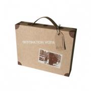 autres paysages mallette voyage carton recycle kit : Mallette du voyageur