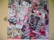 tableau autres art pop collage customisation art de rue : ROSE'N ROLL