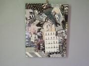 tableau autres art pop customisation collage art de rue : BLACK STORY