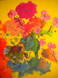 Herbes Folles 12 Figure 61 x 50 cm