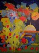 tableau : Amarillo 12 Figure 61 x 50 cm