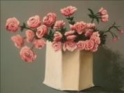 dessin fleurs fleurs roses bouquet pastel : roses