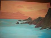 tableau marine : Paysage