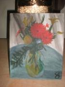 tableau : Vase fleurie