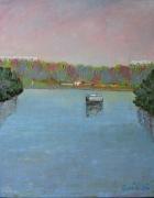 tableau paysages : La Marne