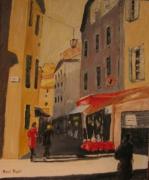 tableau villes nice : le vieux Nice