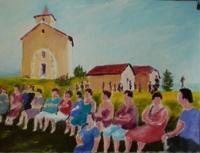 Fête à la vieille église de Lugrin