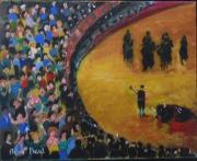 tableau : La corrida