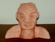 sculpture personnages : Le vieux tunisois