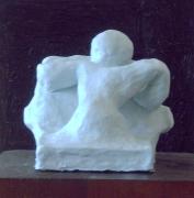 sculpture nus : Le mur