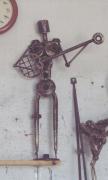 sculpture personnages : Sculpture fer