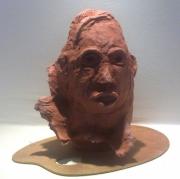 sculpture personnages : La vieille tunisienne