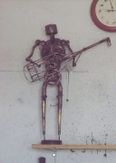 sculpture personnages sculptures fer tunisie hammamet : Sculpture fer