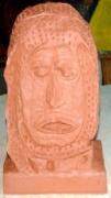 sculpture personnages : Keffieh